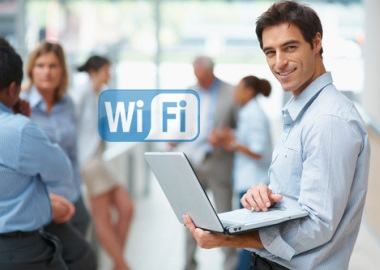 Wireless network using HP
